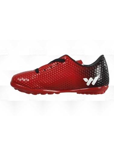 Walkway 023 Kırmızı Çocuk Halı Saha Ayakkabısı Kırmızı